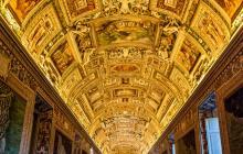 Techo de Museos Vaticanos