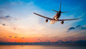 Avión llegando a Ciampino