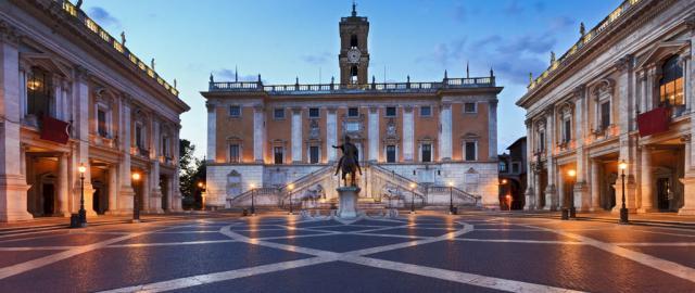 Tritón en la Plaza Barberini