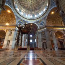 Interior de San Pietro