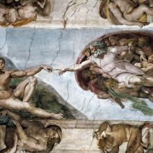 Frescos de Miguel Ángel