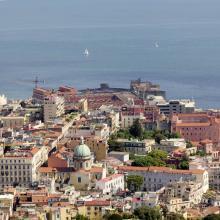 Panorámica de Nápoles