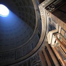 Interior del Panteón