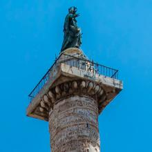 Detalle de la columna