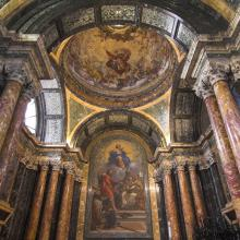 Interior de Santa María del Popolo